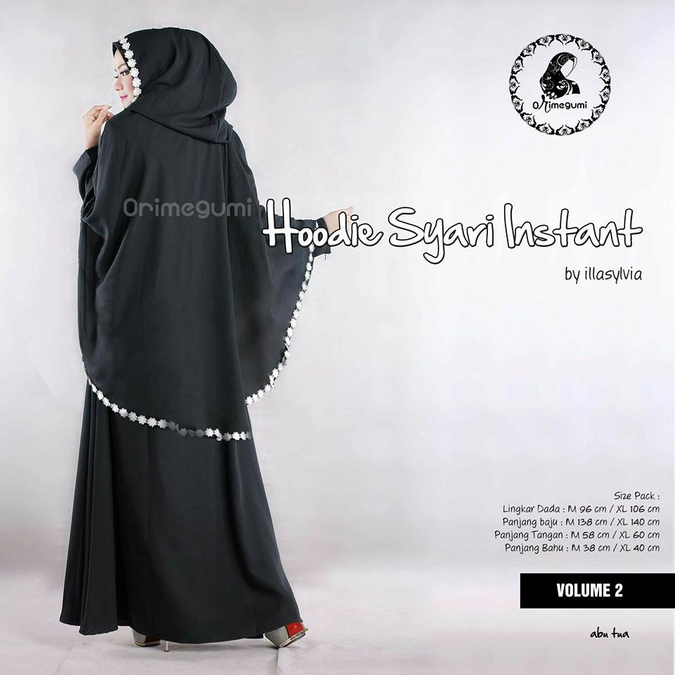 Hoodie Syari Vol2  By Orimegumi Fashion ABU TUA 2