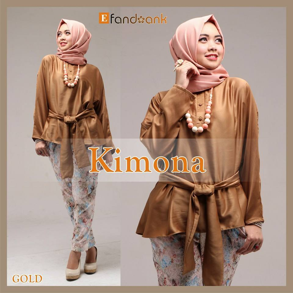 Kimona by Efandoank Gold