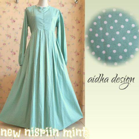 New Nisriin Dress Mint