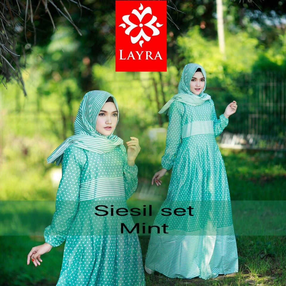Open PO Siesil set by Layra MINT