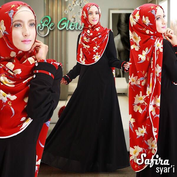 Safira sar i by Be Glow hitam