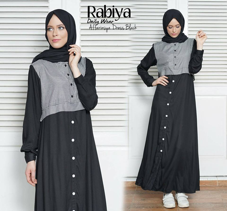 AFFARINSYA DRESS BLACK