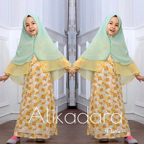 Dara kids by Alikadara KUNING