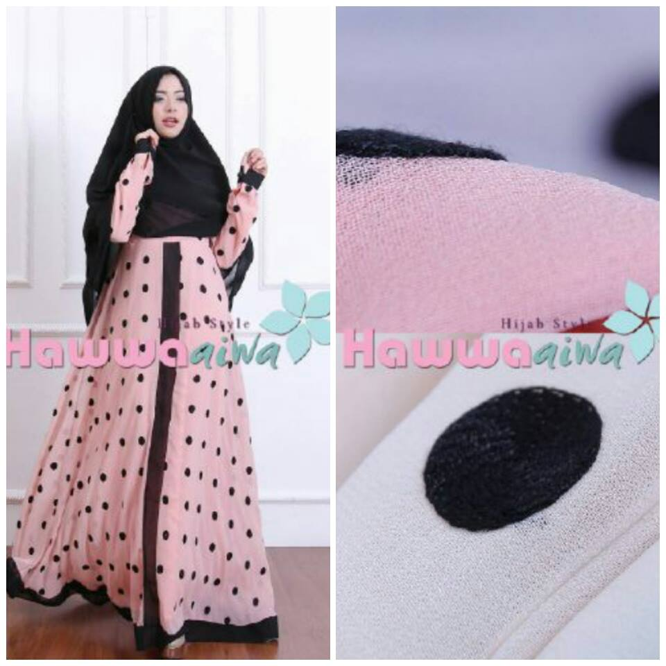 Dotty Syarie by Hawwa Aiwa PINK