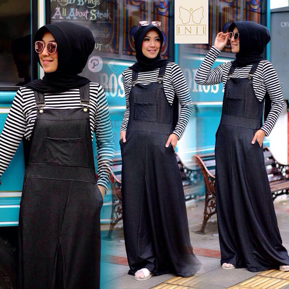 Dress Overall set by Inji HITAM