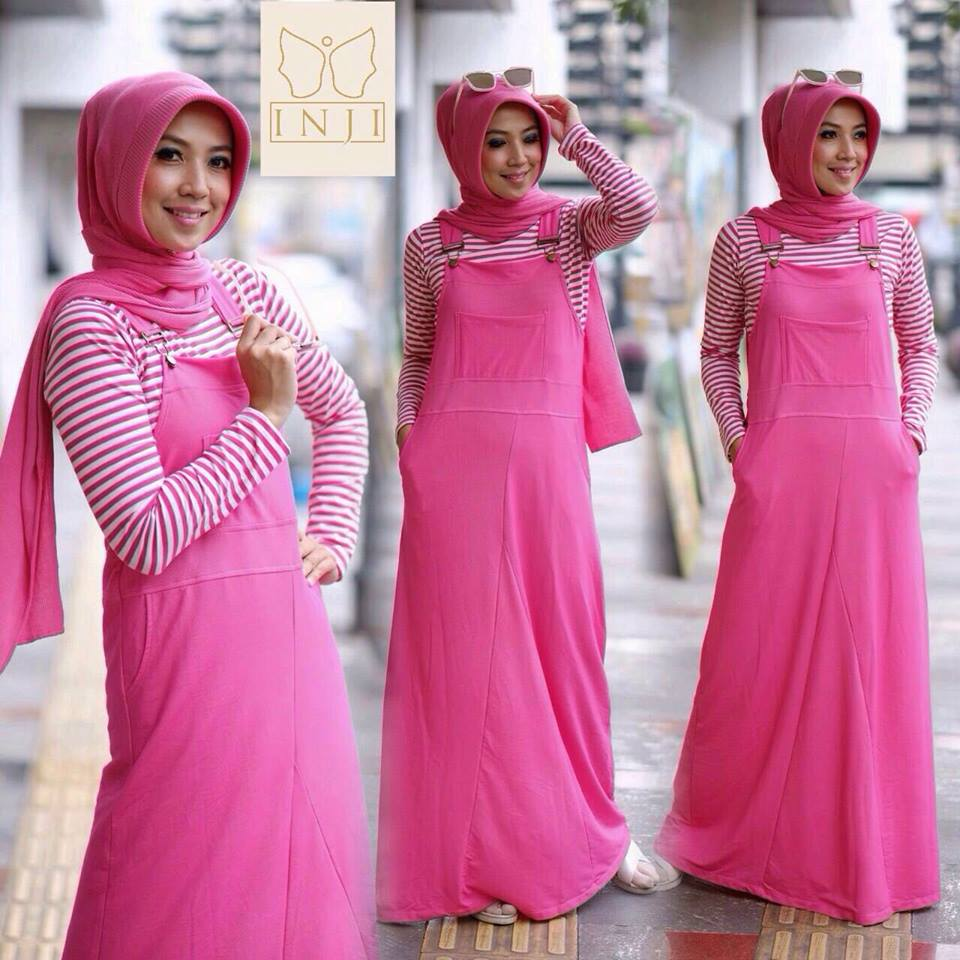 Dress Overall set by Inji PINK