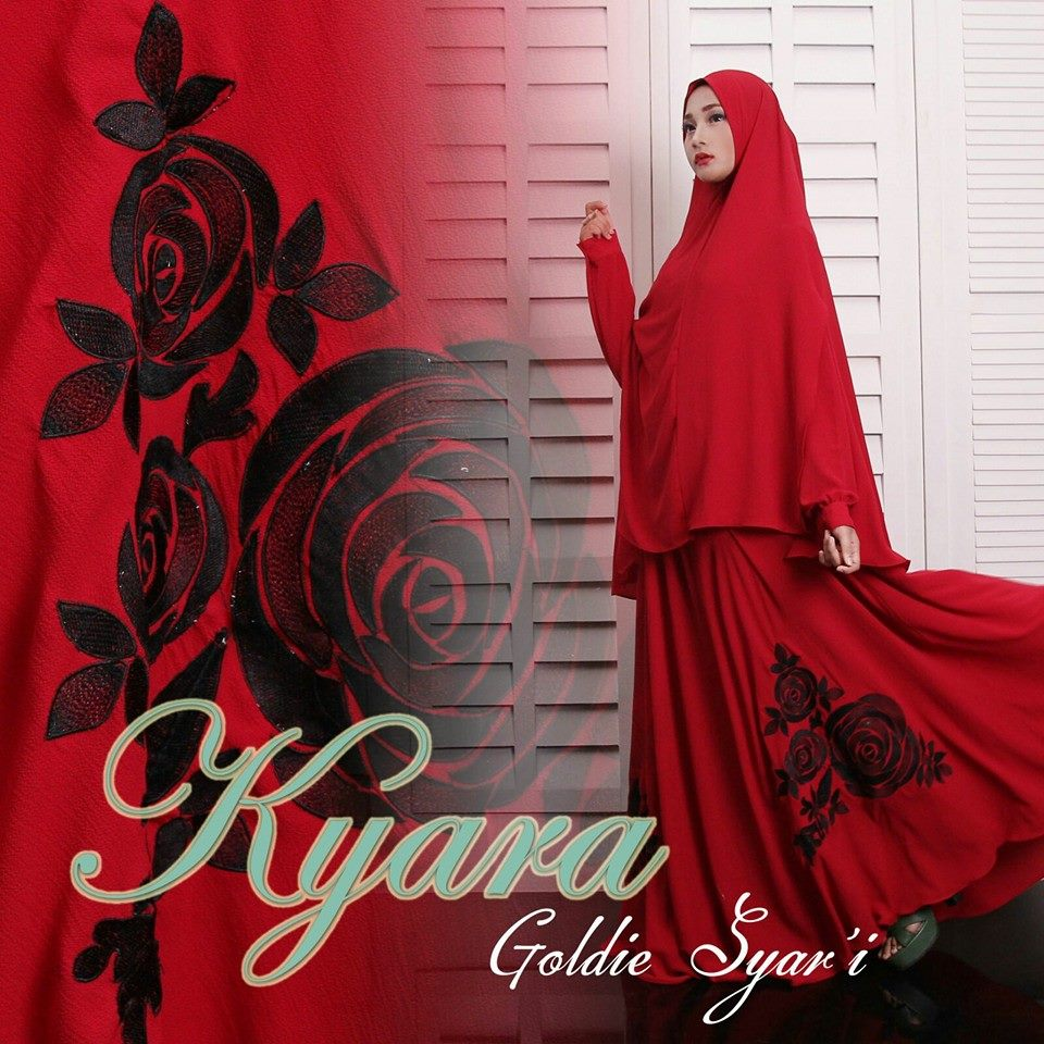 Goldie Syarie by Kyara Red