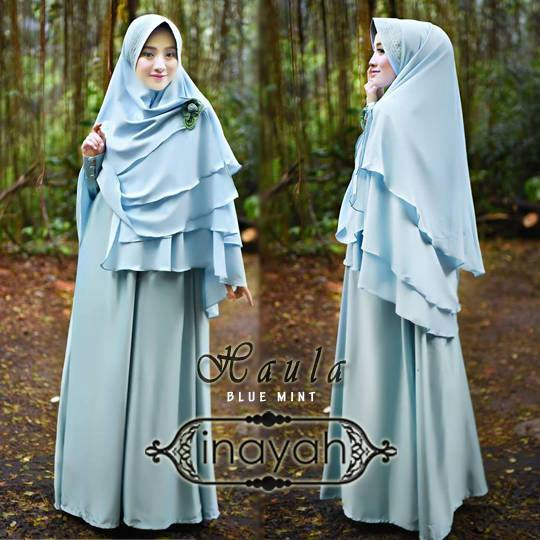 HAULA by INAYAH BLUE ,MINT