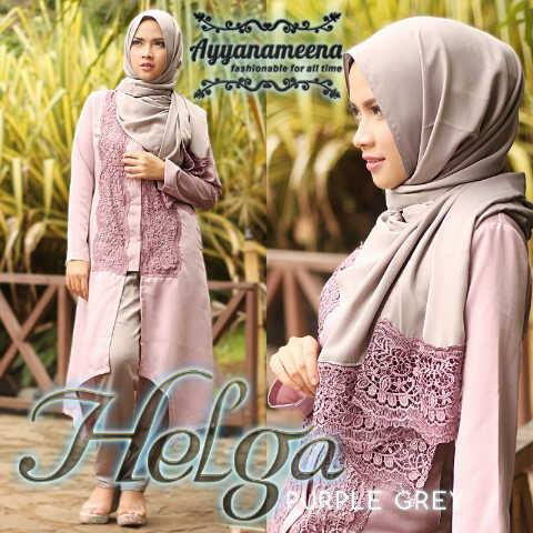 HELGA PURPLE GREY
