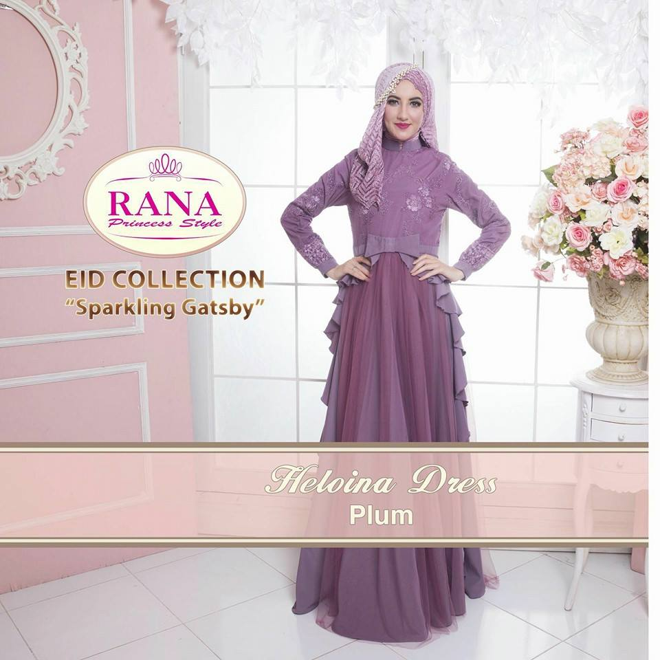 HELOINA DRESS PLUM