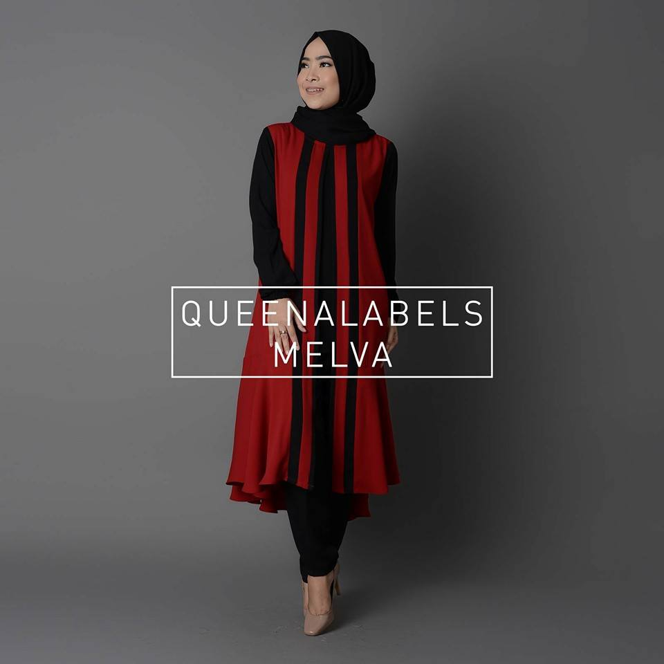 Melva by Queenalabels HITAM