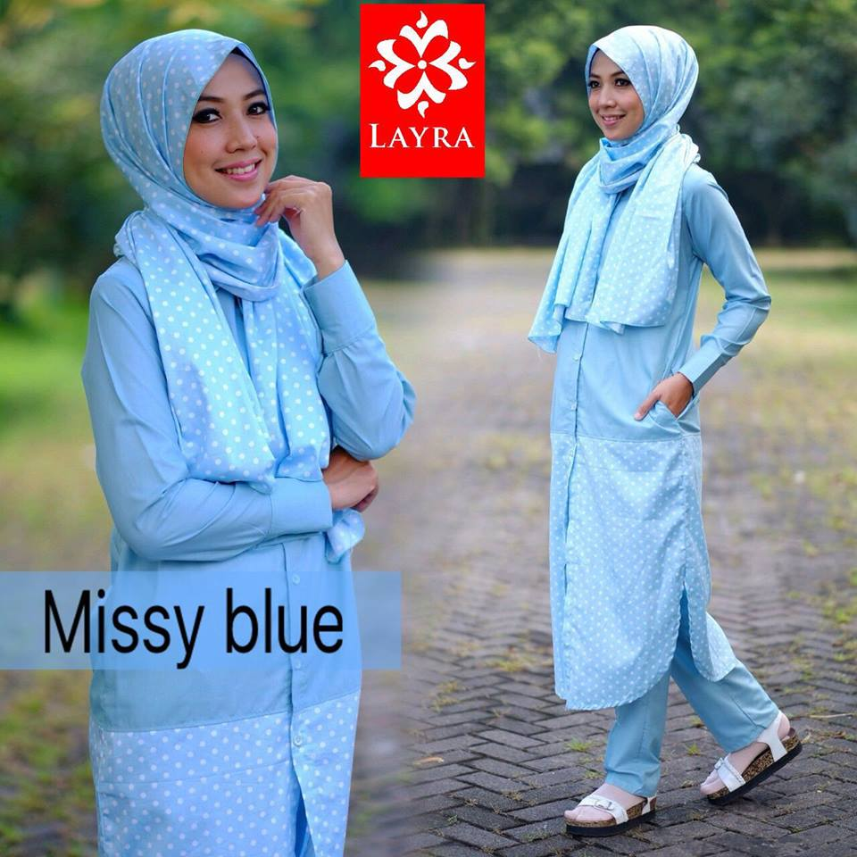 Missy set by Layra BLUE