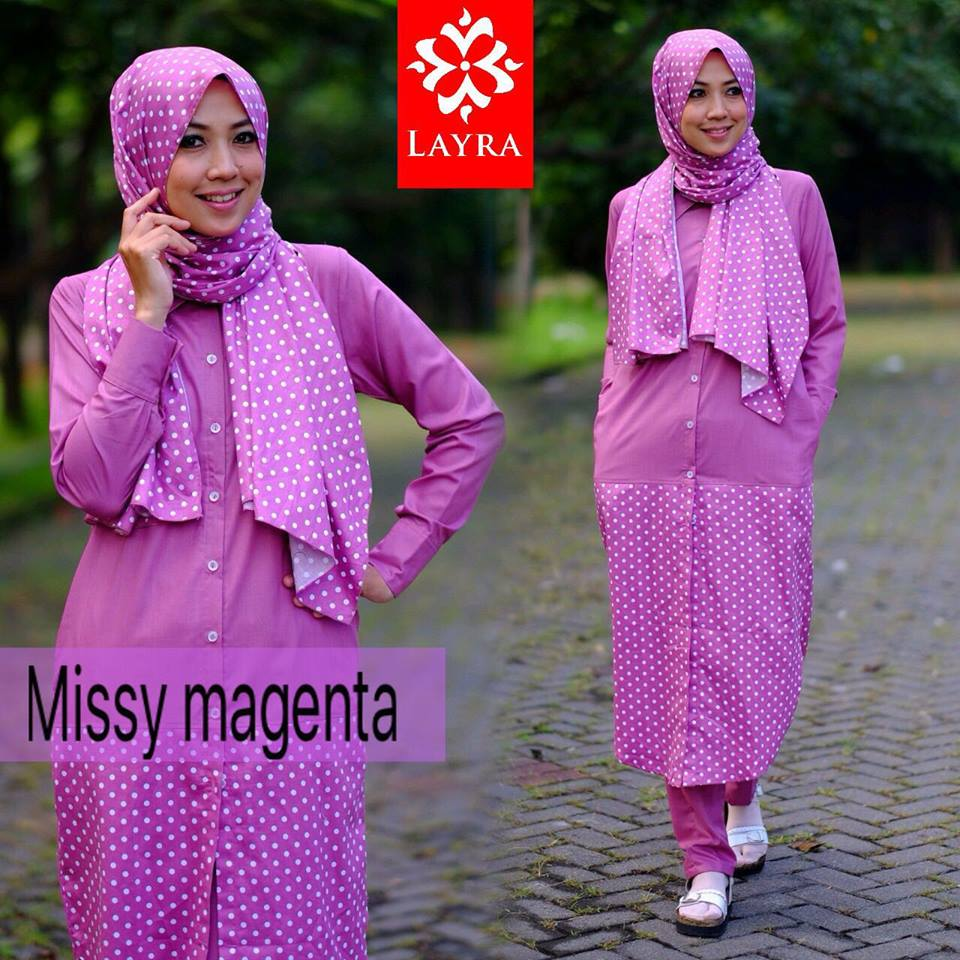 Missy set by Layra MAGENTA