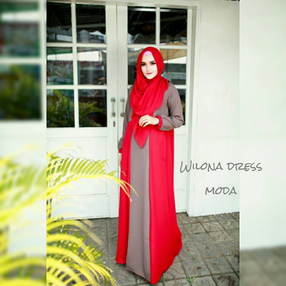 New  Wilona Dress Set  by MODA MERAH