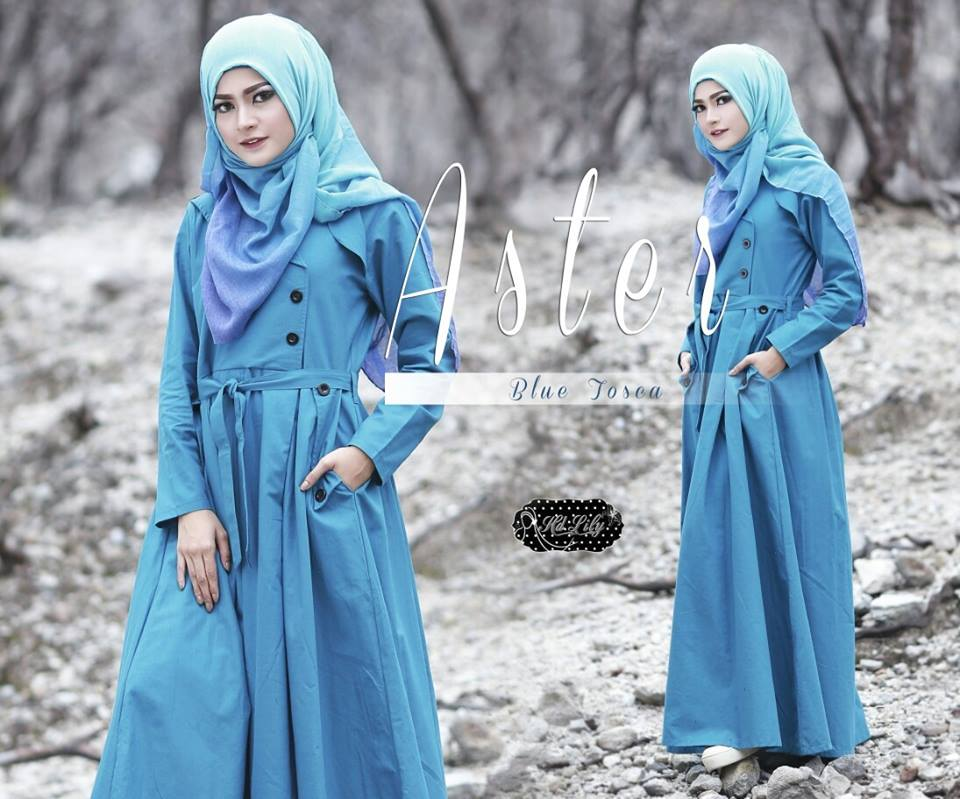 ASTER by HD LILY BLUE TOSCA