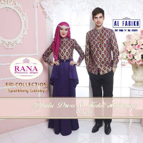 Dhatu Dress & Adibrata Koko PURPLE