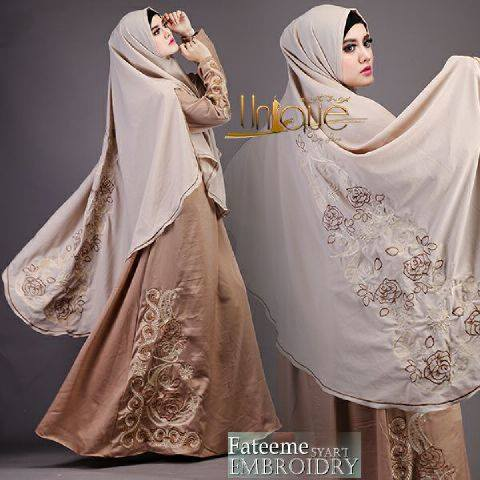 Fateeme syar'i by Unique COKLAT