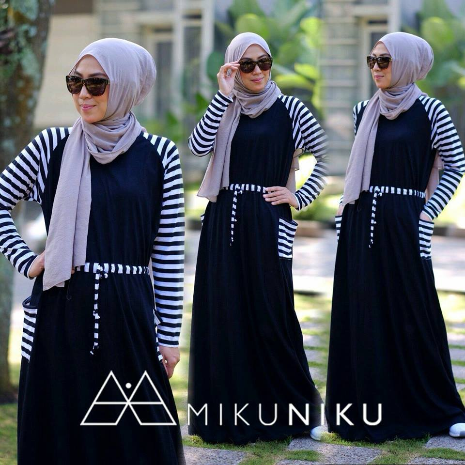 KYRA DRESS by MIKUNIKU HITAM
