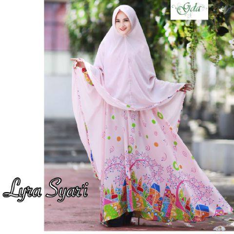LYRA SYARIE by GDA BOUTIQUE PINK