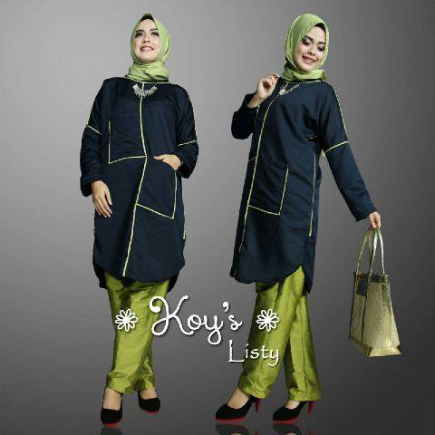 Listy set by Koys HIJAU