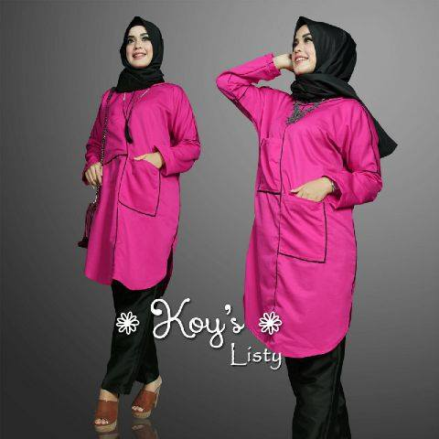 Listy set by Koys HITAM FANTA