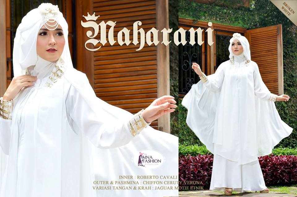 Maharani by Aina Fasion Broken White