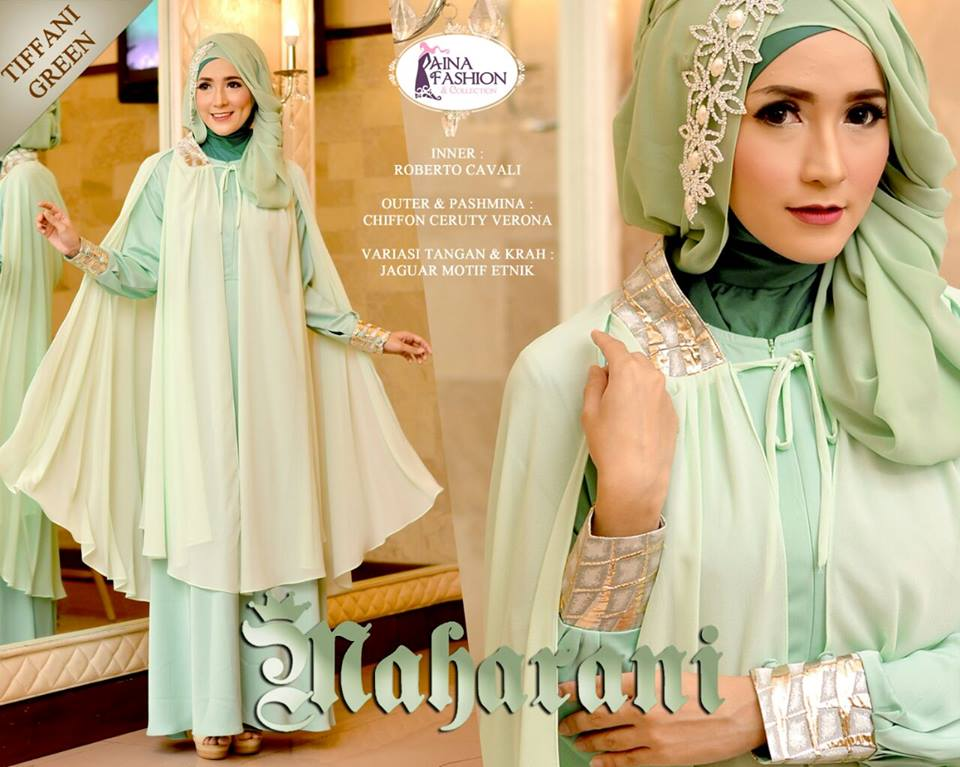 Maharani by Aina Fasion Tiffani Green