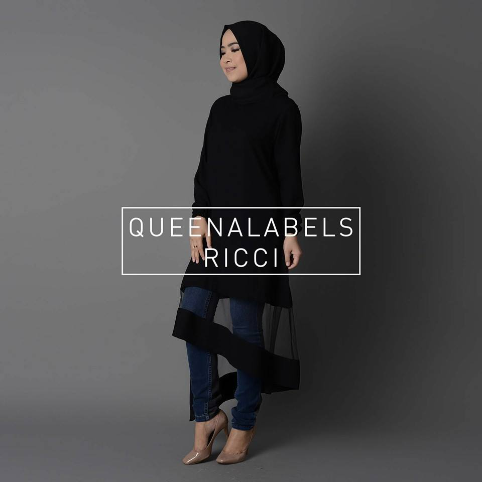 RICCI by QUEENALABELS HITAM