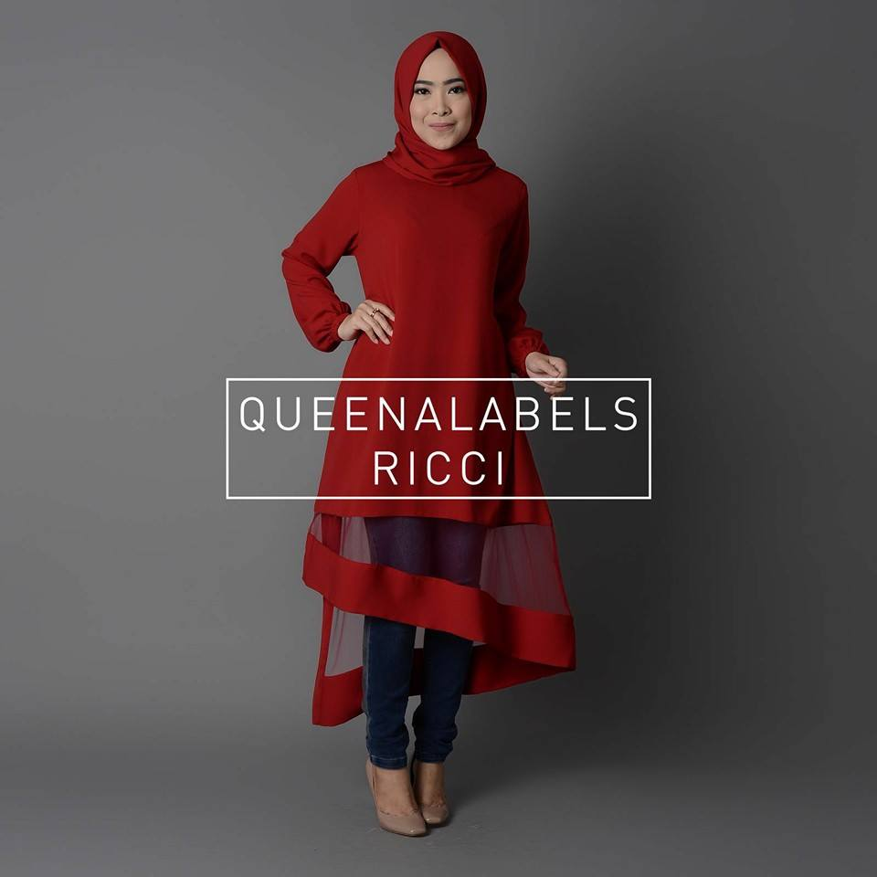 RICCI by QUEENALABELS MERAH