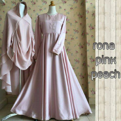 Rona Dress by AIDHA PINK PEACH