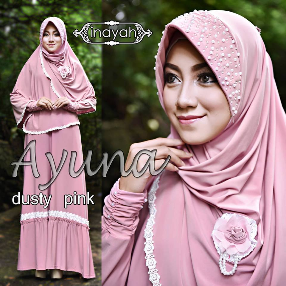 AYUNA by INAYAH DUSTY PINK
