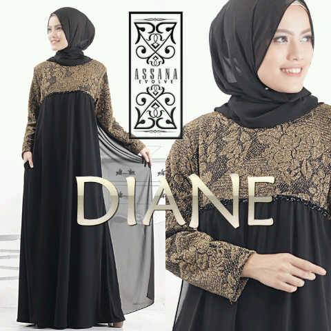 DIANE by Assana Evolve hitam