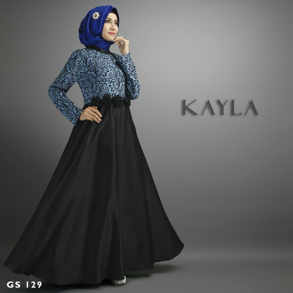 GS 129 Kayla by SHIRAAZ Hitam