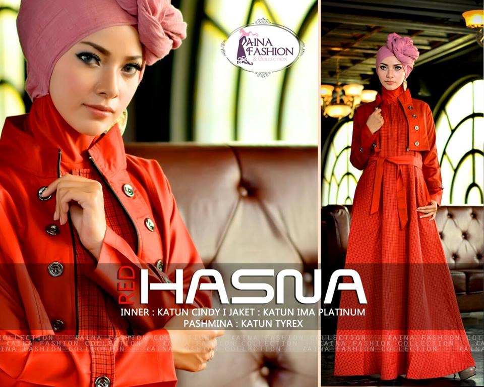 Hasna by Aina Fashion RED