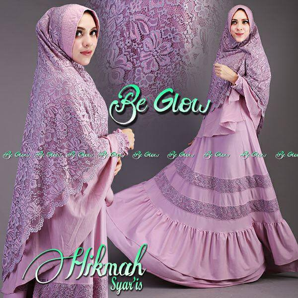 Hikmah syarie by BE GLOW SOFT UNGU