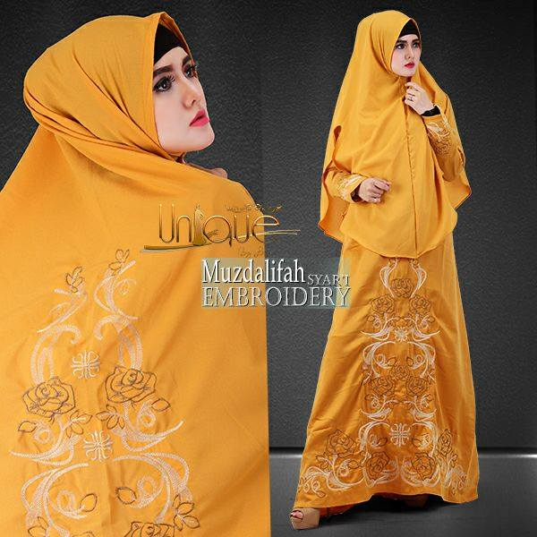 Muzdalifah syar'i by Unique Kuning