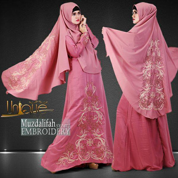 Muzdalifah syar'i by Unique Pink
