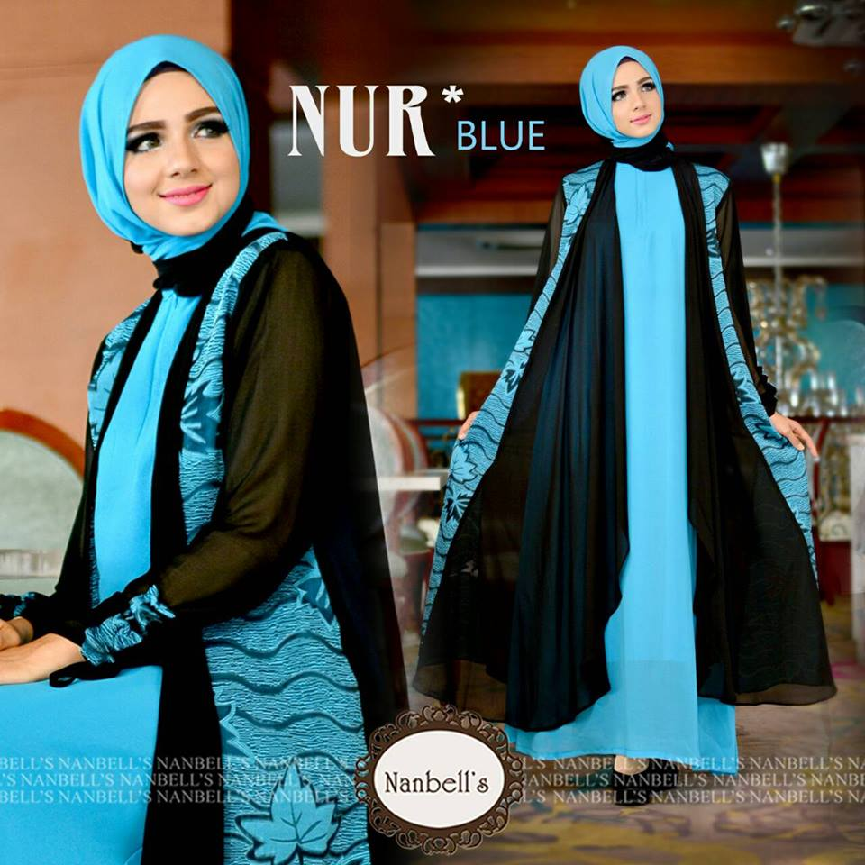 NUR  BLUE  by NANBELL'S