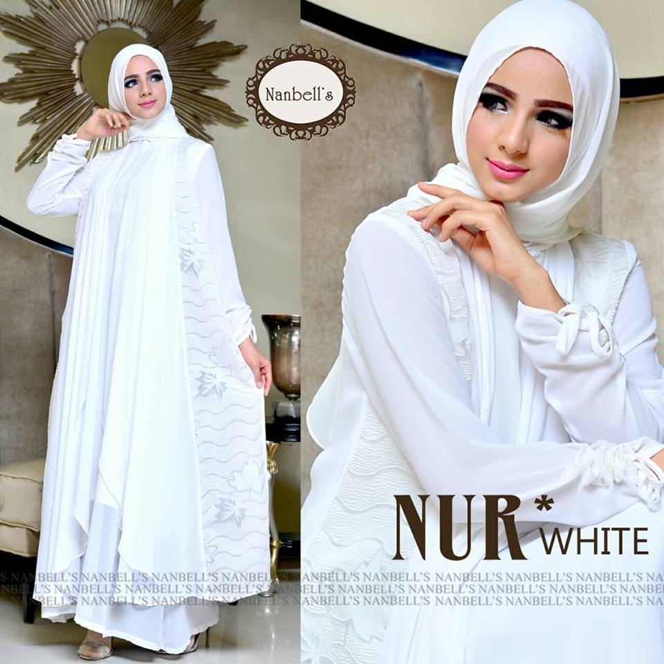 NUR  WHITE  by NANBELL'S
