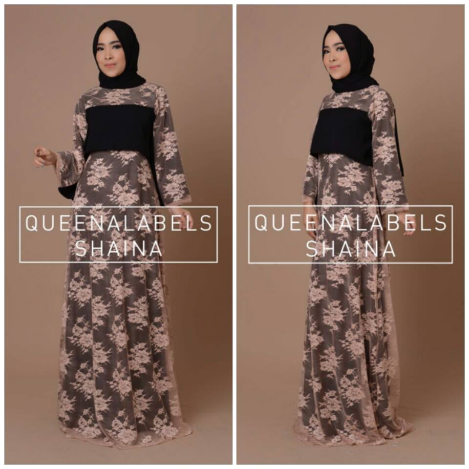 SHAINA by QUEENALABELS HITAM