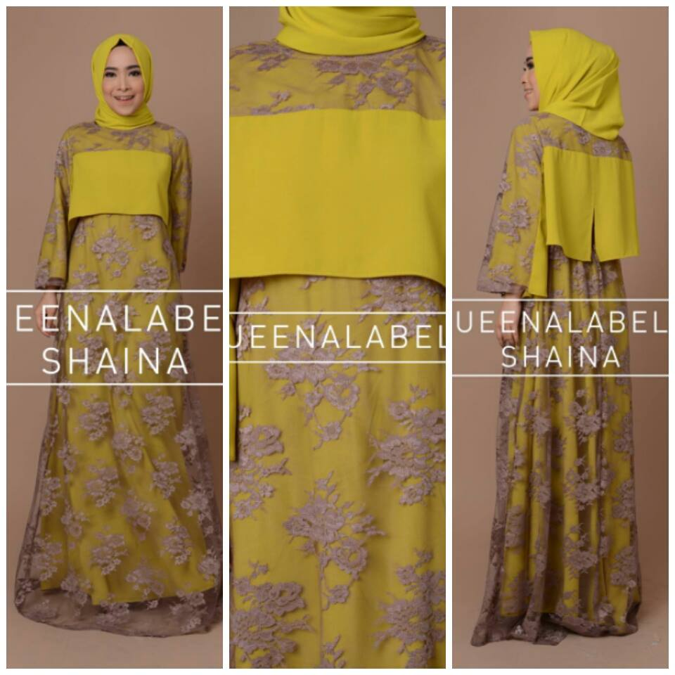 SHAINA by QUEENALABELS KUNING