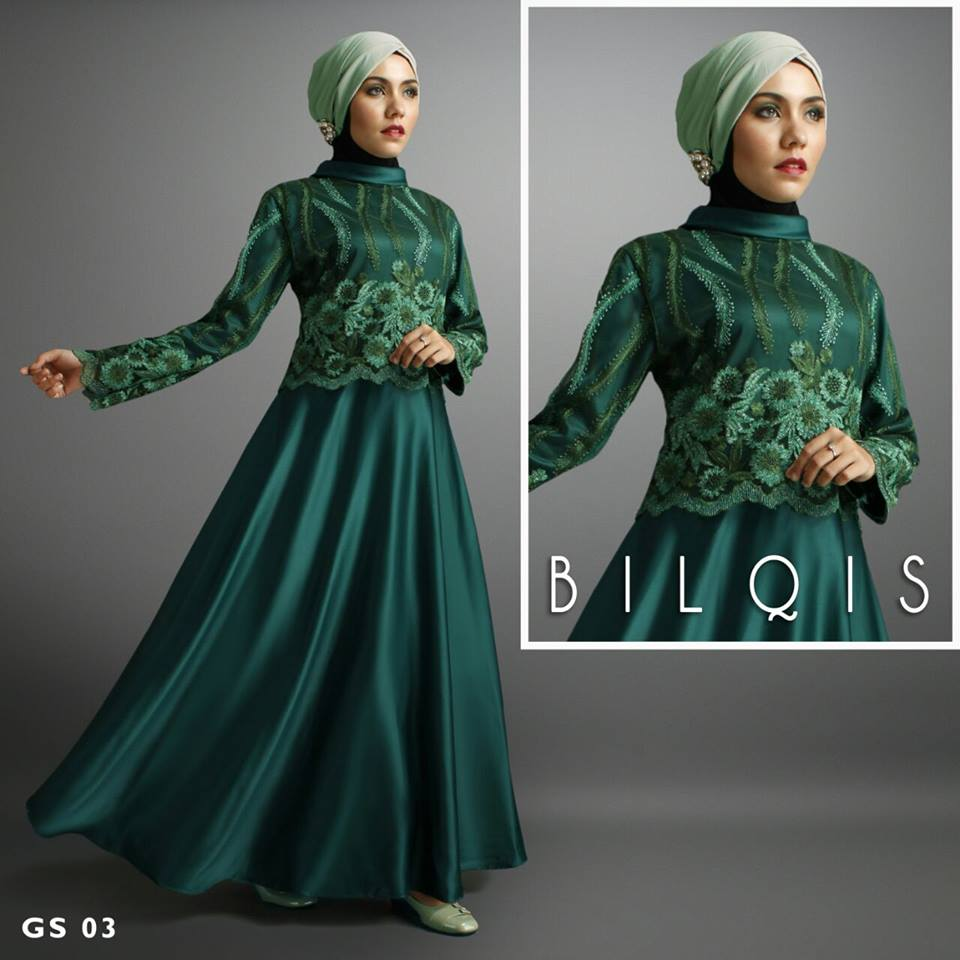 BILQIS - GS 03 by SHIRAAZ HIJAU