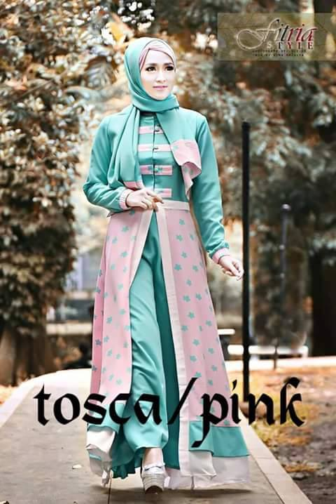 Bastante by Fitria Style TOSCA PINK 6