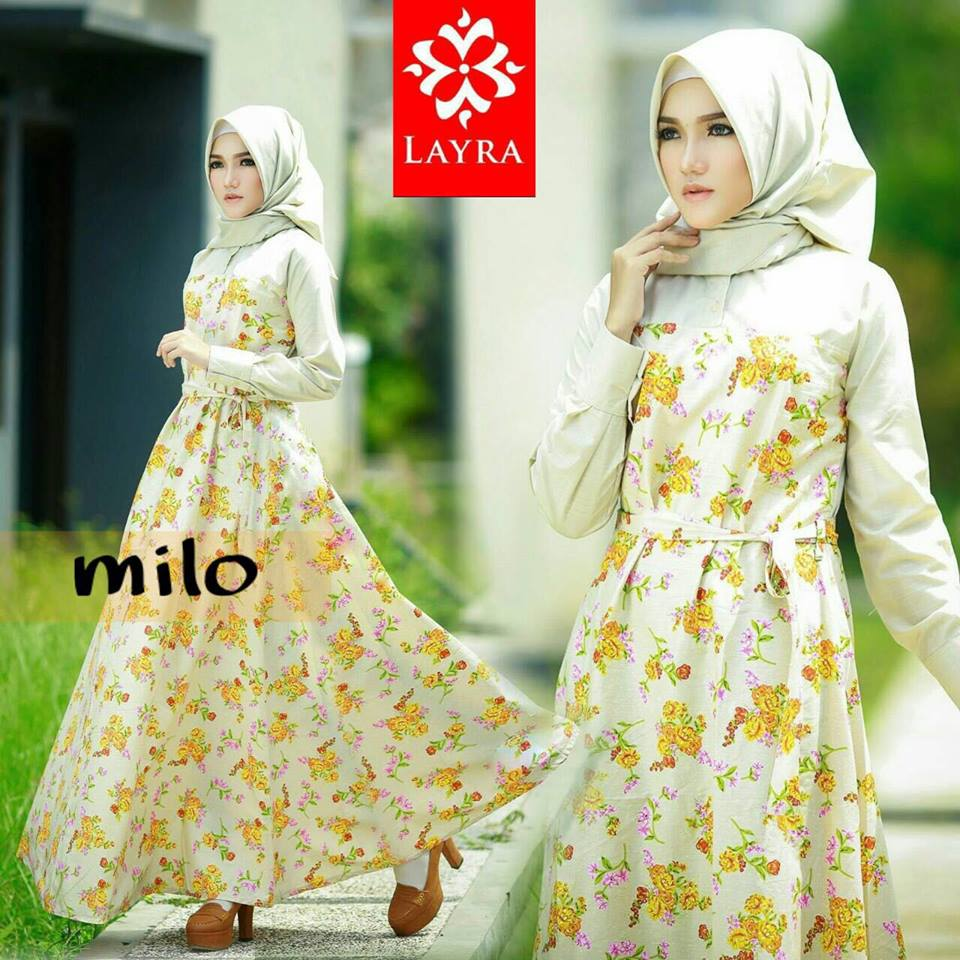 Flowery dress set by LAYRA MILO