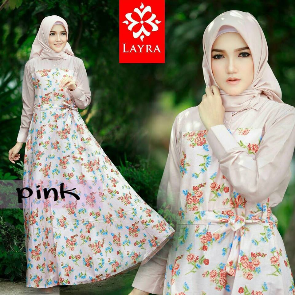 Flowery dress set by LAYRA PINK