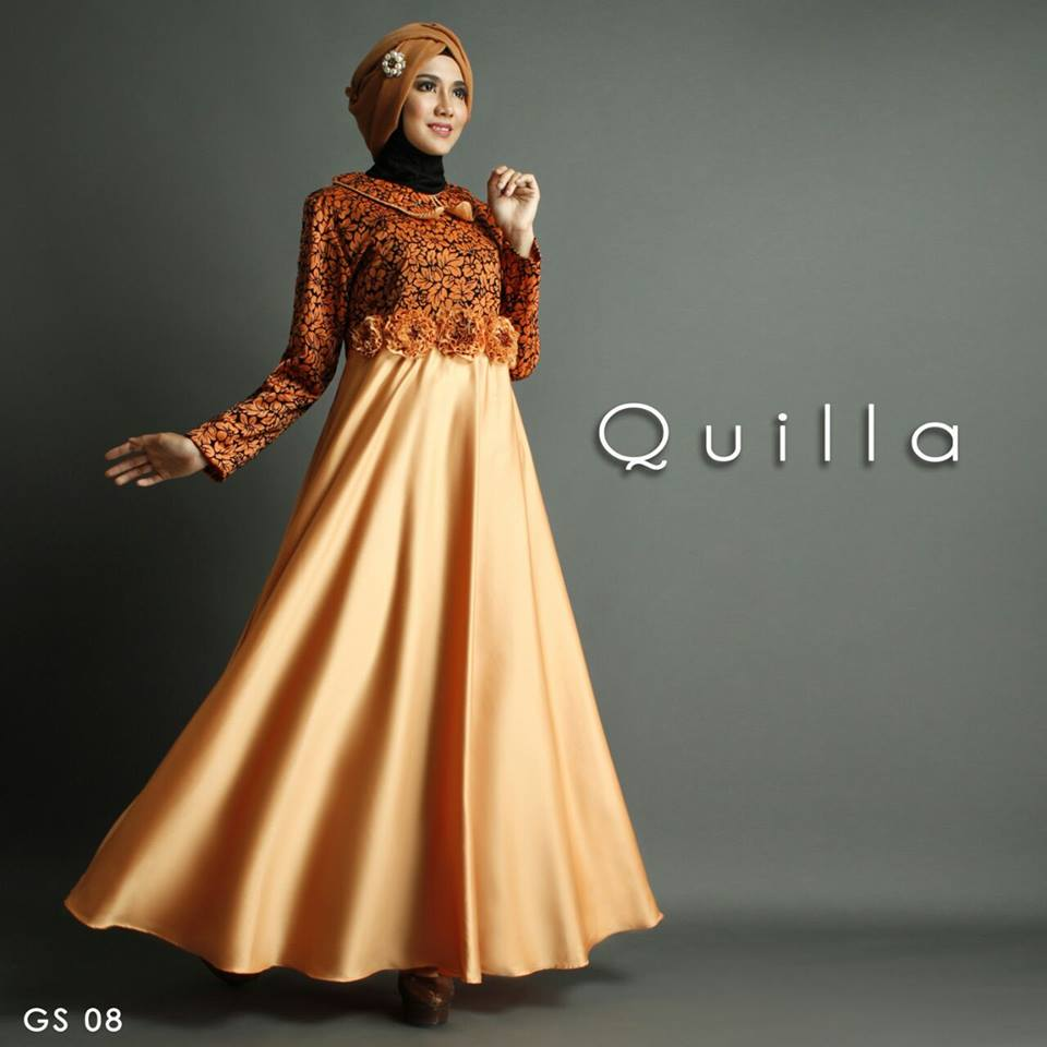 GS 08 Quilla by SHIRAAZ ORANGE
