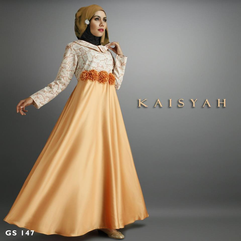 KAISYAH DRESS by SHIRAAZ KUNING