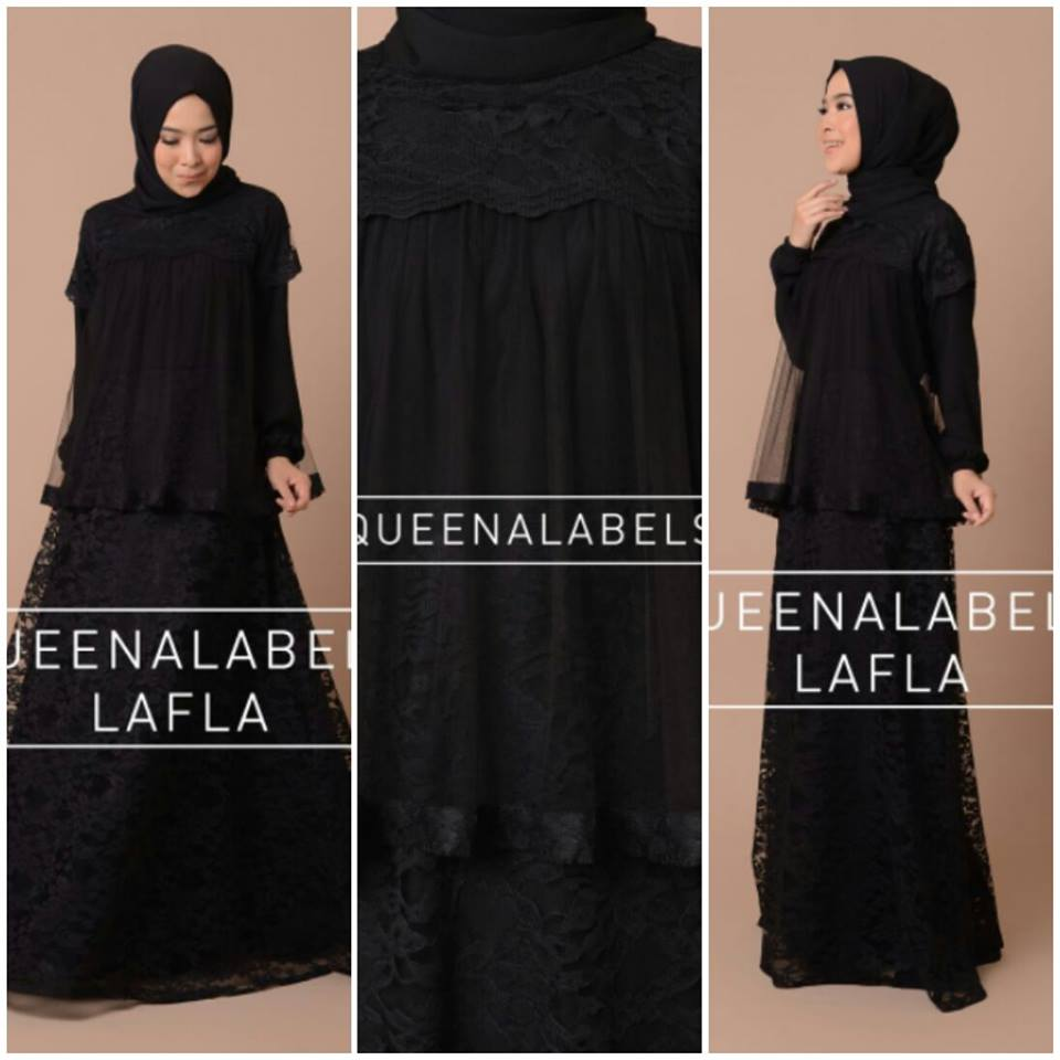 LAFLAA by QUEENALABELS HITAM