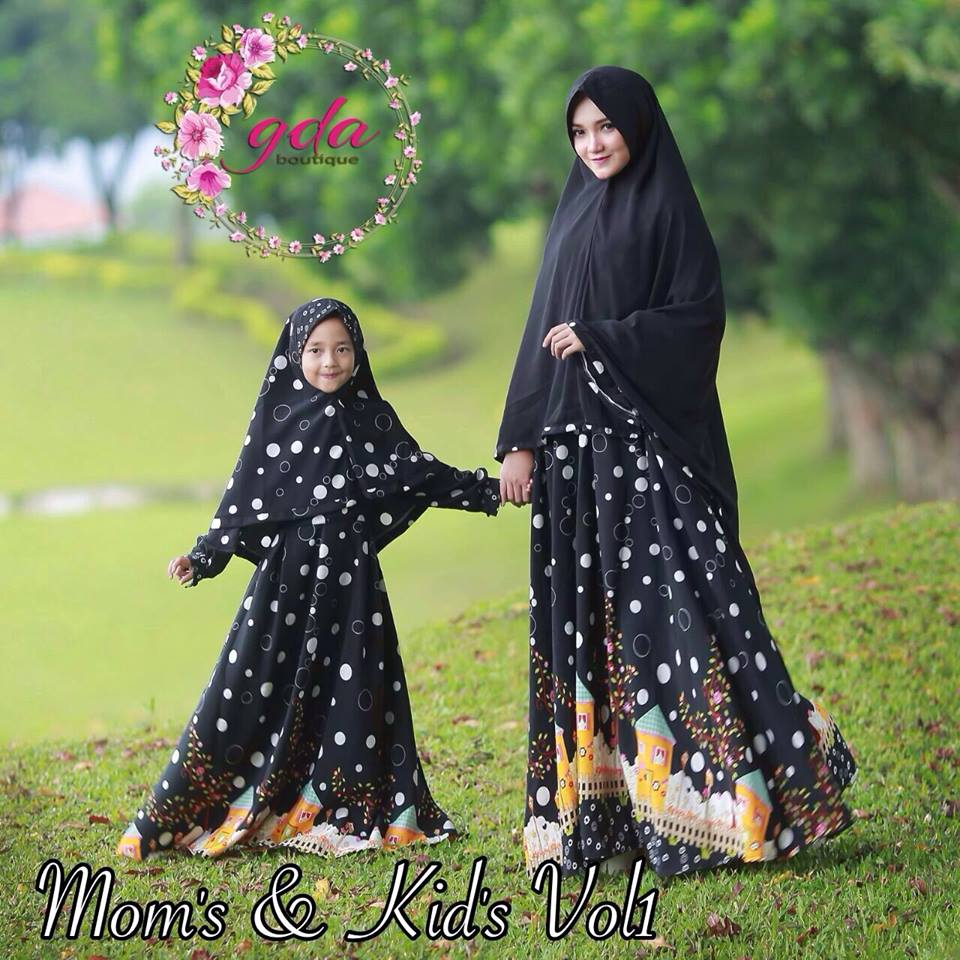 LYRA MOM'S n KID'S by GDA BOUTIQUE HITAM