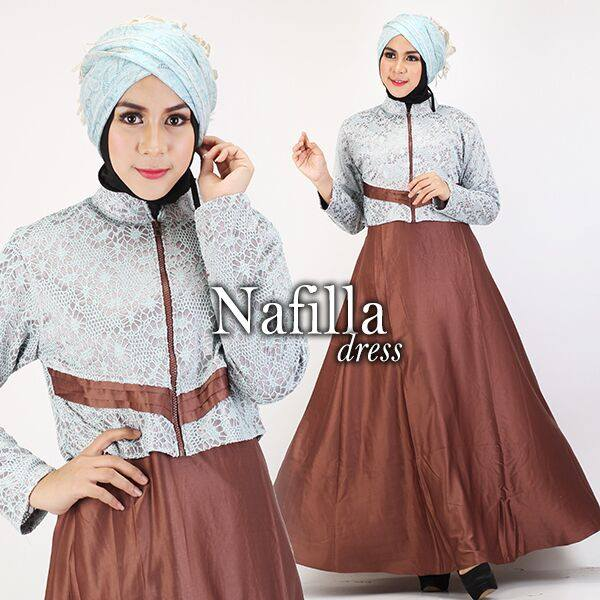 NAFILLA DRESS by GS COKLAT